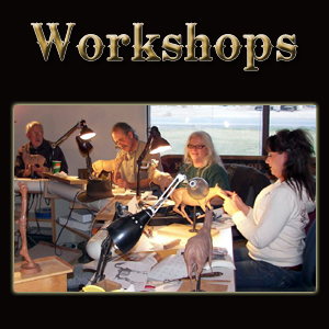 Jeff Wolf Sculpting Workshops