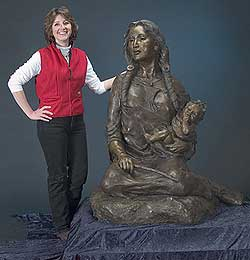 Mary Michael - Bronze Montana