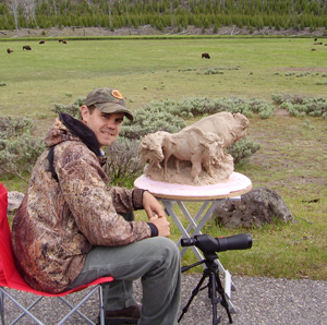 Tobin Capp - Bear Tracks Bronze Artist