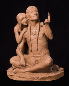 Perfection - Sculpture by Jeff Wolf