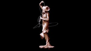 The Wedding Ring - Cowboy Sculpture by Jeff Wolf