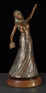 Terry Family Commission Bronze by Jeff Wolf